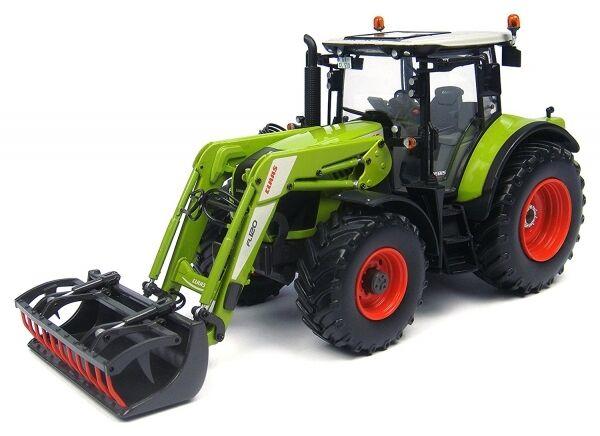 Universal Hobbies UH 4299 Traktor Schlepper Claas Arion 530 mit Frontlader 1 32    Kunde zuerst