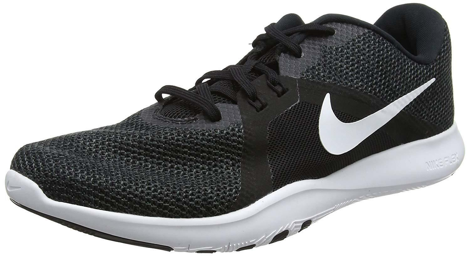 1727292038989 WMNS Nike Flex Trainer 8 VIII Black White Women Cross Training Shoes ...