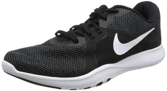 63c3db2b464355 WMNS Nike Flex Trainer 8 VIII Black White Women Cross Training Shoes ...