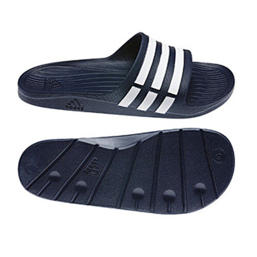 Sport Adidas Chaussures De Sandales Tongs Mens Slide Bleu Piscine Duramo vqXwrvnR