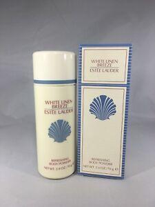 White-Linen-Breeze-by-Estee-Lauder-Body-Powder-2-4oz-70g-for-WOMEN-NIB