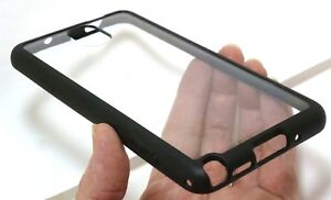 Griffin Reveal Ultra-thin Hard-shell Clear Case for Samsung Note 3 - Clear/Black