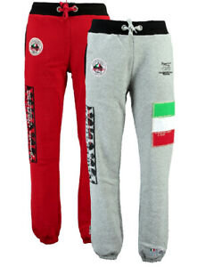 Pantalone-Geographical-Norway-Mitaly-lungo-Uomo-Men-Full-long-pants-lacci-in-vit