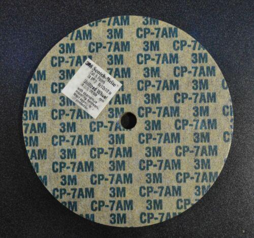 """1//Pk 3M Scotch-Brite 6/""""x1//2/""""x1//2/"""" 7A Medium Cut and Polish Whl 03707"""