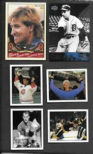 6-HOCKEY-GREATS-GRETZKY-HOWE-ORR-ROY-SP-039-S-INSERTS-HALL-OF-FAMERS