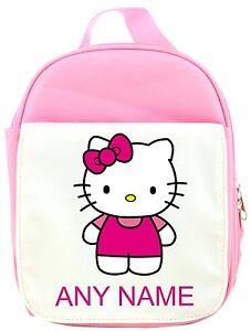 Personnalise-Hello-Kitty-Style-Panier-Repas-Sandwich-Sac-Rose-Bleu-Rouge