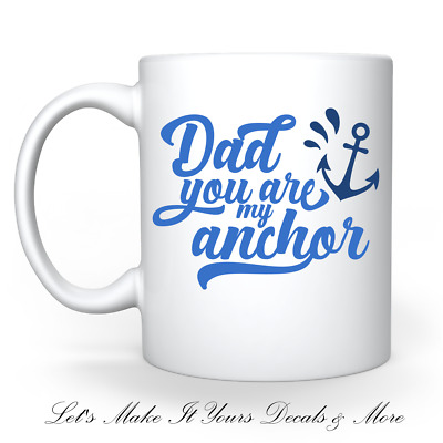 Details about  /Personalized Aunt Leopard Anchor Aunt Ceramic Coffee Mug Flower Anchor