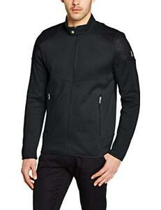 Spyder-Herren-Slider-Jacke-Full-Zip-mit-Botton-Top-schwarz-Groesse-2xl-ref44