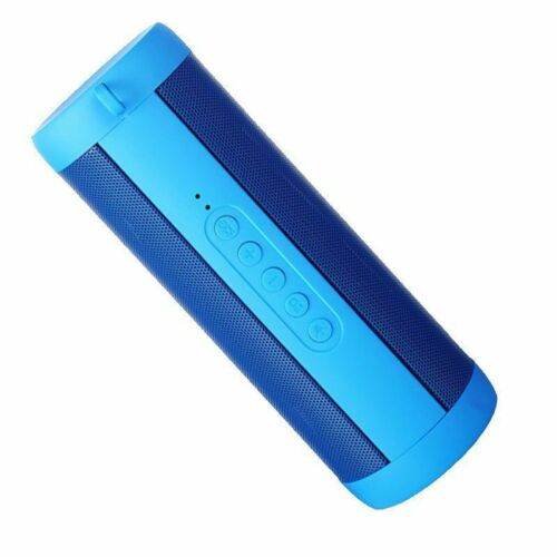 Bluetooth Speaker Waterproof Sports FM Stereo Wireless LED Flashlight Subwoofer