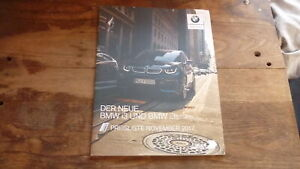 GERMAN-CAR-SALES-ADVERTISNG-BROCHURE-BMW-i3-amp-i3S-2017-MODEL