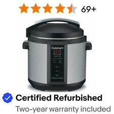 Cuisinart 6 Quart 1000 Watt Electric Pressure Cooker Stainless Steel