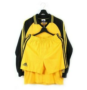 90s adidas EQT Equipment vintage soccer kit jersey shorts deadstock 2 piece M L
