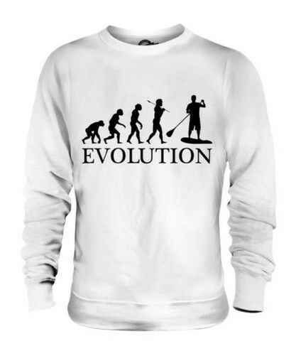 PADDLE BOARD EVOLUTION UNISEX SWEATER MENS WOMENS LADIES TOP GIFT BOARDING SUIT