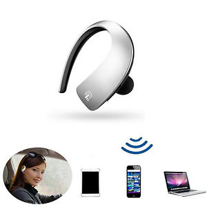 wireless bluetooth headset with microphone for iphone 5 se 5c 6s samsung s6 htc ebay. Black Bedroom Furniture Sets. Home Design Ideas