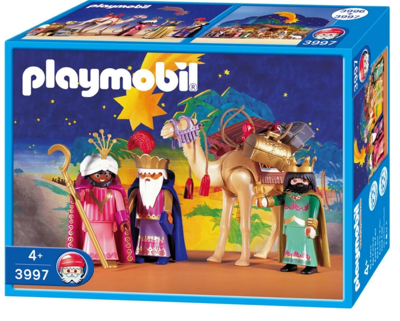 PLAYMOBIL 3997 NOËL ROIS MAGES-CHRISTMAS WISE KINGS  NEUF-NEW-NEU