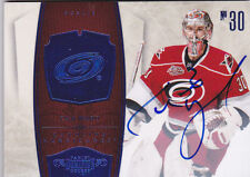 10-11 Dominion Cam Ward 10/10 Auto BLUE Hurricanes 2010 Autograph