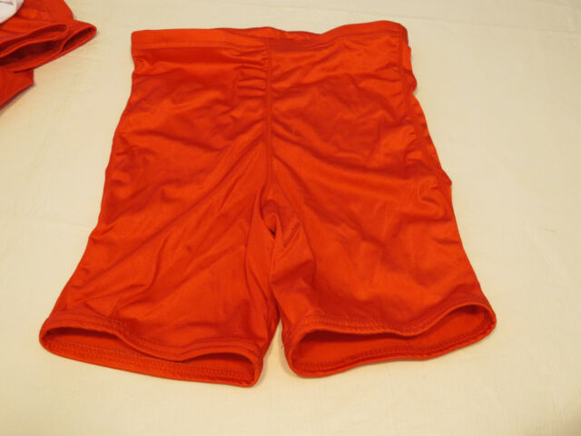Game Gear NL111 compression shorts sliding 1 pair athletic sports XL red NOS 3e92e3363b05