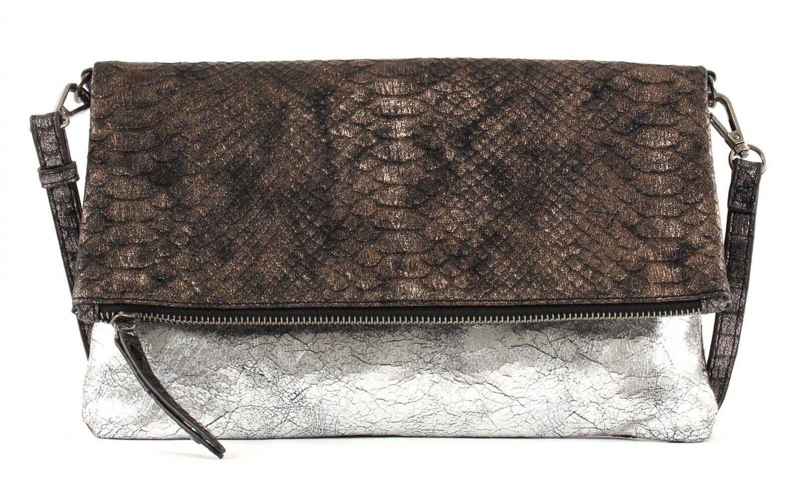 SURI FREY Fanny Crotver Bag S Umhängetasche Clutch Bronze Bronze Silber Neu   Um Zuerst Unter ähnlichen Produkten Rang    Viele Stile    Große Auswahl