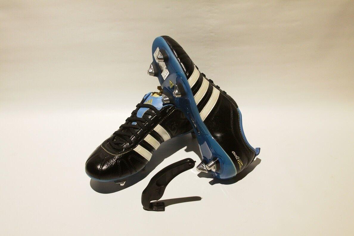 Adidas Fútbol Fútbol Adipure 3 TRX SG botas Botines De Cuero Copa del Mundo Nuevo Raro