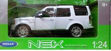Land Rover Discovery 4 SUV Truck Die-cast 1:24by Welly 7 inches White