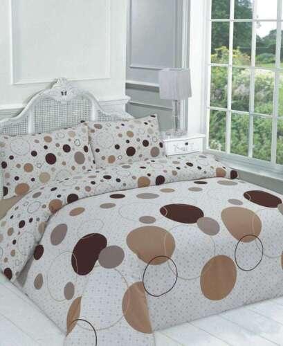 Designer Duvet Quilt Cover Set With Pillow cases Single Double Super King Size