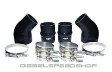 FITS 1994-2002 DODGE Cummins® INTERCOOLER BOOT KIT SILICONE KIT STAINLESS CLAMPS