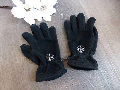 2019 Mode 1. Fck Kaiserslautern ♛ Unisex Fleece Handschuhe Fingerhandschuhe Schwarz S M