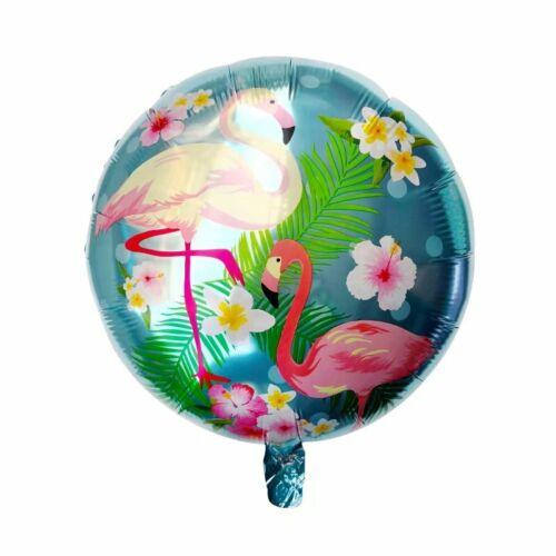 NEWEST FLAMINGO Birthday Hawaiian Luau  PARTY Supplies CUP Plate Napkin BALLOON