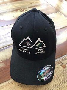 Image is loading Bear-Mountain-Snow-Summit-Baseball-Hat-Cap-S-M- becb63efbc60