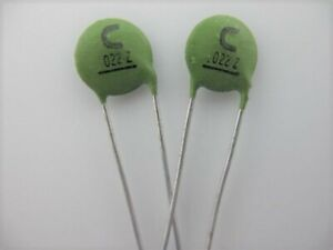 PACK OF 10 PCS 50V Ceramic Disc Capacitors Multi Choice Electronic Components