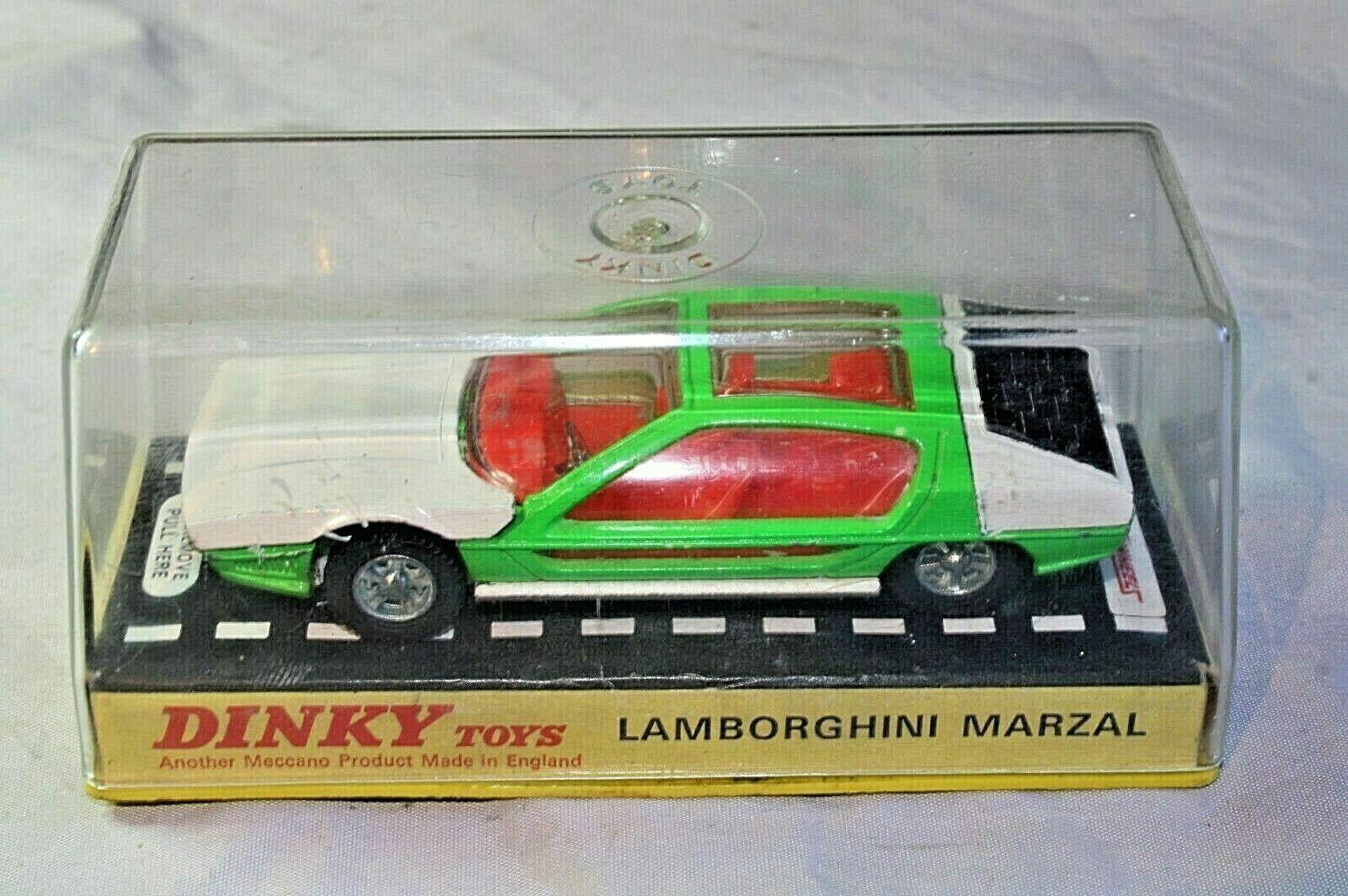 Dinky 189 Lamborghini Marzal, superbe état dans boîte d'origine