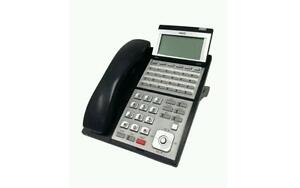 fully refurbished nec ux5000 0910048 24 button display phone black rh ebay com Bottom NEC UX5000 24 Button Telephone NEC Business Phones
