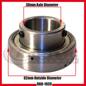 Go Kart Racing 30mm Rear Axle Bearing Cadet Kart