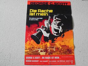 George C. Scott, Die Rache ist mein - Original Filmplakat A1