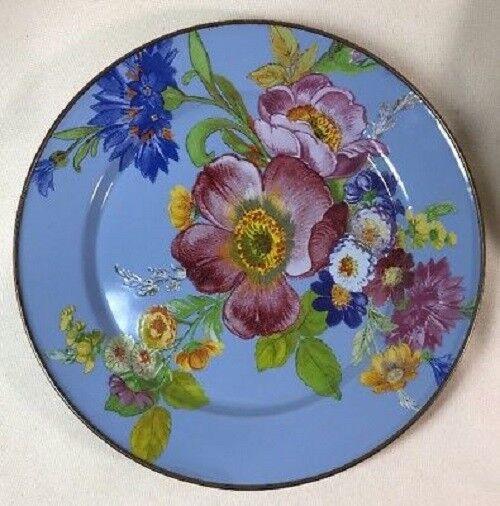 McKenzie-enfant fleur bleu Market 12  Chargeur Dinner Plate 9 ASSIETTES disponibles