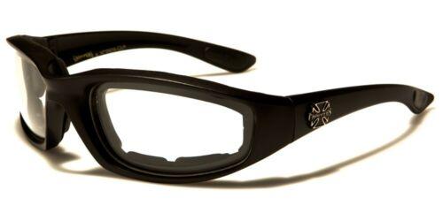 lunettes moto motard de soleil biker croix conduite nuit malte choppers