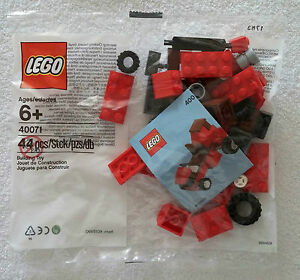 Lego-40071-Lawn-Mower-Tractor-Lawnmower-Promo-Polybag-NEW-amp-OVP-RARE-6015990