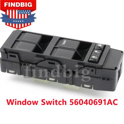 Master Window Switch For 07-10 Jeep Patriot Compass Dodge Caliber 56040691AC USA