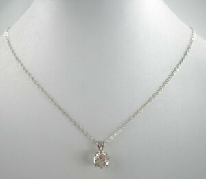 charmante-835er-Silber-Halskette-amp-Anhaenger-Zirkona-Vintage-2-97g