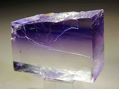 Museum Quality Clear Blue Halite Single Crystal, Carlsbad, New Mexico! HL170