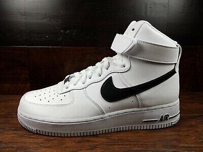 Nike Air Force 1 High AF1 [CK4369-100] (White / Black) Basketball Mens 11.5  | eBay