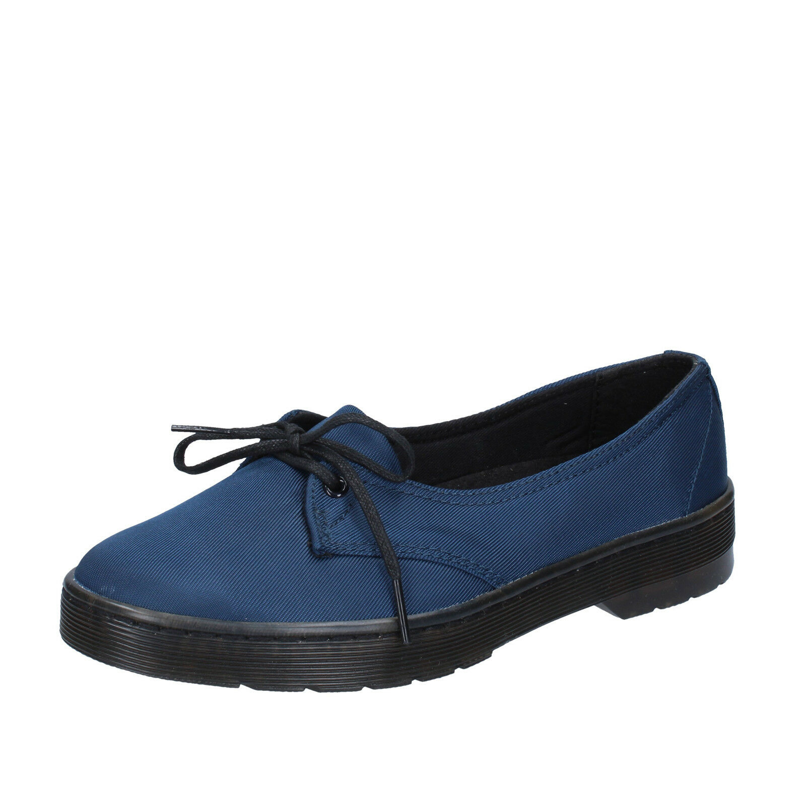 Para mujeres Zapatos Dr. Martens 3 (EU 36) Ballet Zapatos Zapatos Zapatos sin Taco Sin Lona Azul BT242-36  ahorra hasta un 50%