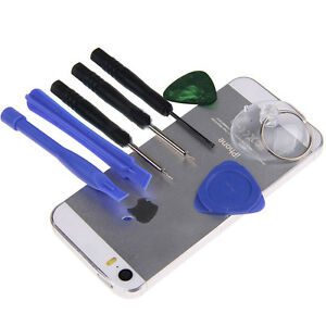 8in1 repair opening pry tools screwdriver kit set for iphone 6 6s plus se 5 ipod ebay. Black Bedroom Furniture Sets. Home Design Ideas