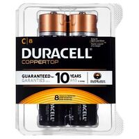 Duracell C8 Batteries - 8 Pack