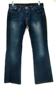 Lucky-Brand-Jeans-Tag-Size-8-29-29-Inseam-Low-Rise-Flare-Women-039-s