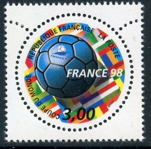 STAMP-TIMBRE-FRANCE-NEUF-N-3139-FRANCE-98-COUPE-DU-MONDE-FOOTBALL-1998