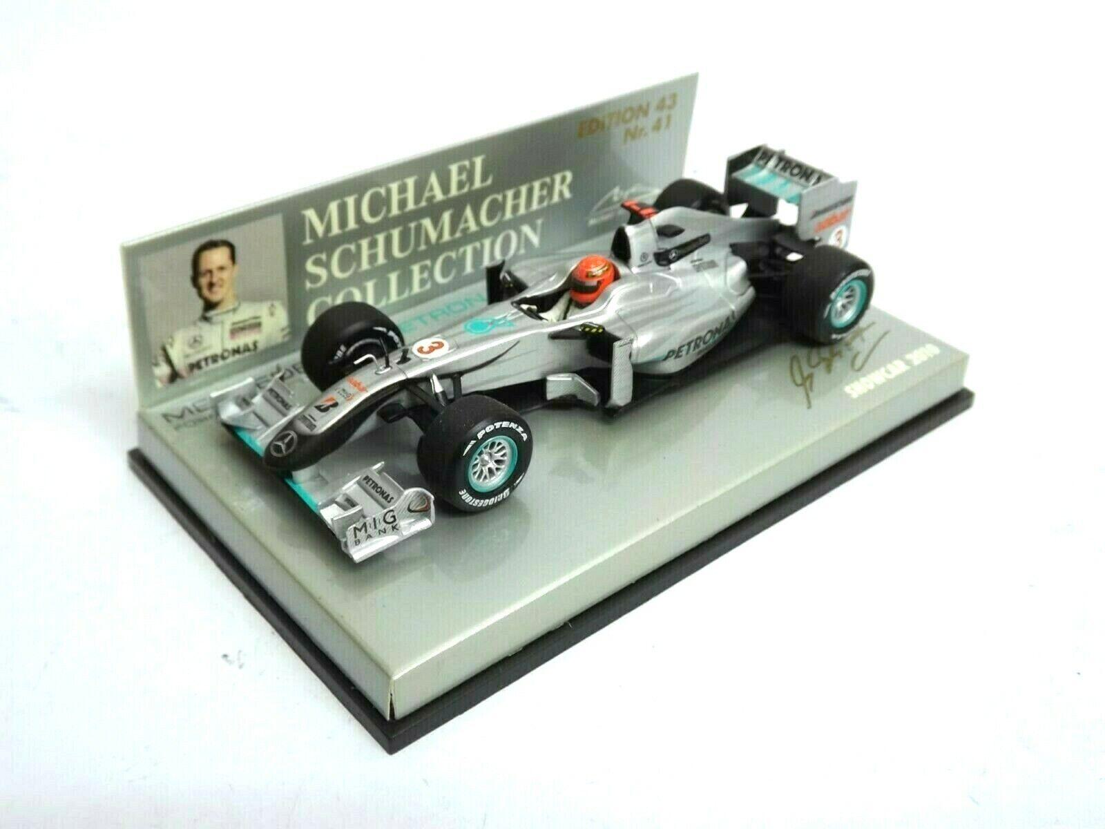 Minichamps Merceds GP Petronas Showcar 2010 M.Schumacher (1 43) Boxed 131