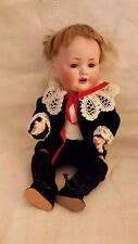 """ANTIQUE BAHR PROSCHILD BISQUE BABY DOLL # 585 11.25"""" T HEAD C 9.25 COMPO BODY"""