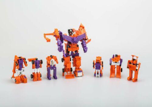 Transformers G1 Replica arancia DEVASTATOR Natale Regalo Giocattoli Robot Toy
