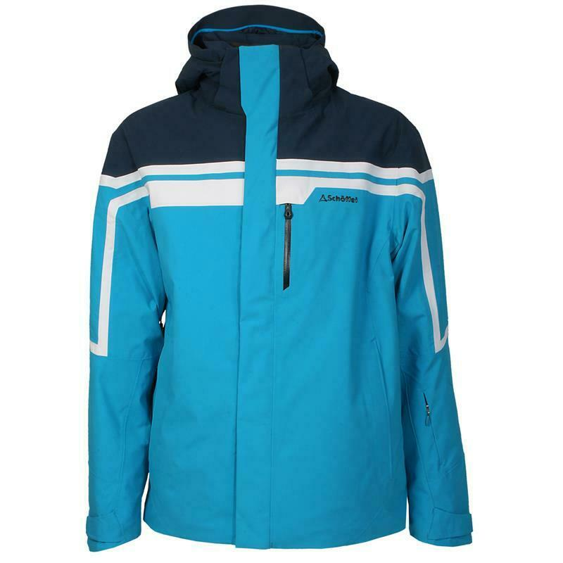 Schöffel Herren 21628-8805 Skijacke Ski Jacket Bergamo Blau Jewel
